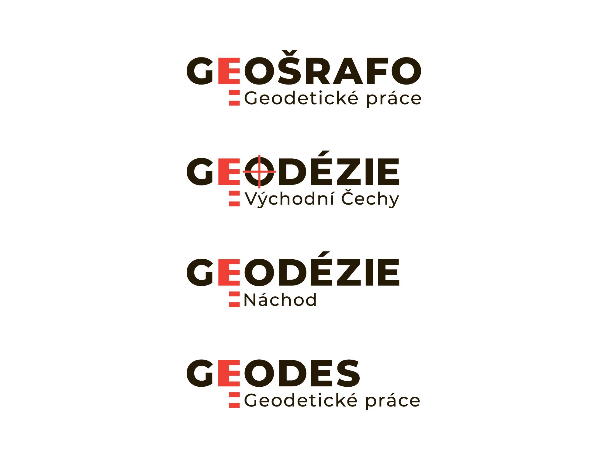 Geodézie - aplikace loga